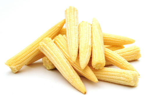 photo of baby corn