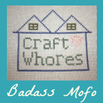 Craft Whores Badass Mofo Badge