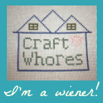 craft whores wiener badge