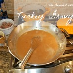 how to make awesome turkey gravy for thanksgiving by The Bearded Iris.com