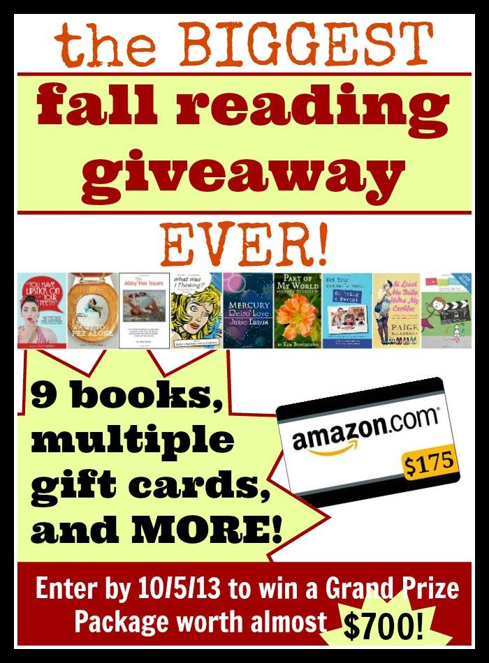 The Biggest Fall Reading Giveaway EVER